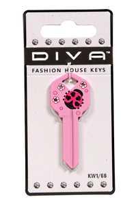 The Hillman Group 87029 Diva Ladybug House Key