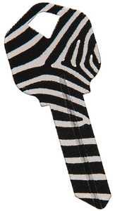 Hillman 88758 Zebra Key - Kw1/66