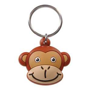 The Hillman Group 711580 Monkey Head Key Chain