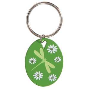 The Hillman Group 711392 Dragonfly Green Key Chain