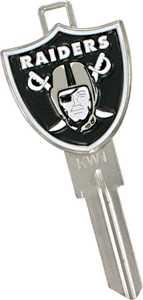 The Hillman Group 88452 Oakland Raiders 3d House Key