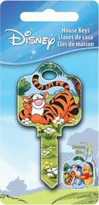 The Hillman Group 87629 Tigger House Key