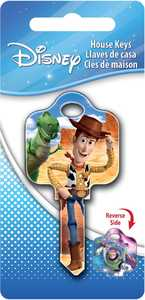 Hillman 87636 Toy Story's Buzz And Woody Key - Kw1/10