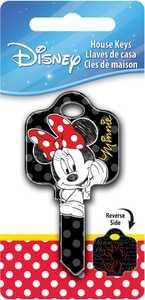 Hillman 87651 Minnie Mouse Key - Sc1