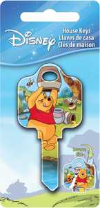 The Hillman Group 87652 Winnie-The-Pooh House Key