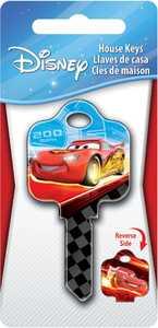 Hillman 87675 Cars - Lightning McQueen Key - Kw1/Kw10