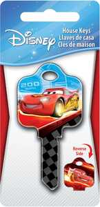 The Hillman Group 87698 Cars' Lightning McQueen House Key
