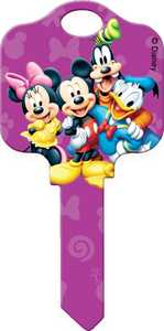 Hillman 94415 Disney Buddies Key - Kw1/66