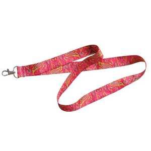 Hillman 711475 Pink Paisley Neck Lanyard