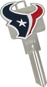 Hillman 88476 Houston Texans 3d Key - Kw1/66