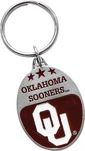 The Hillman Group 711167 University Of Oklahoma Key Chain