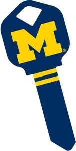 The Hillman Group 89837 University Of Michigan House Key