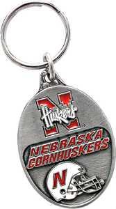 The Hillman Group 711166 University Of Nebraska Key Chain