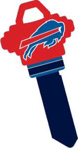 Hillman 89596 Buffalo Bills Key - Sc1/68