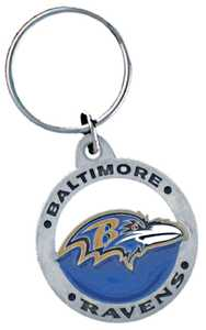 The Hillman Group 710860 Baltimore Ravens Key Chain