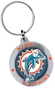 The Hillman Group 710886 Miami Dolphins Key Chain