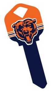 The Hillman Group 89766 Chicago Bears House Key