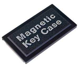 The Hillman Group 701296 Plastic Magnetic Key Case