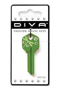 The Hillman Group 87037 Diva Dragonfly Green House Key