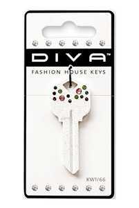 Hillman 87035 Diva - Confetti White Key