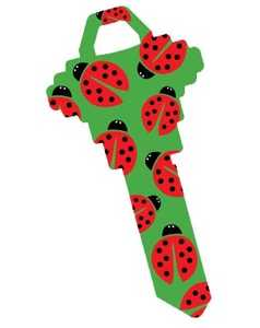 The Hillman Group 87395 Ladybug House Key