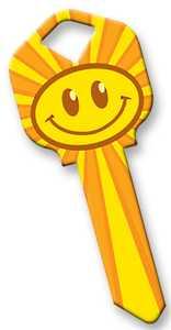 The Hillman Group 87513 Smiley House Key