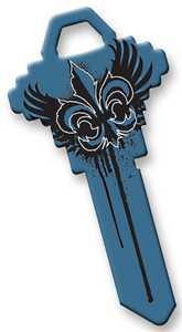 Hillman 89921 Goth Blue Wings Key - Sc1/68