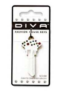 The Hillman Group 87045 Diva Confetti White House Key