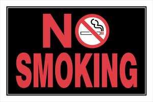 Hillman 839896 No Smoking Sign 8x12
