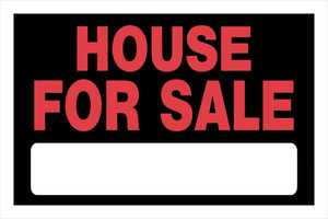Hillman 839936 House For Sale Sign 8x12