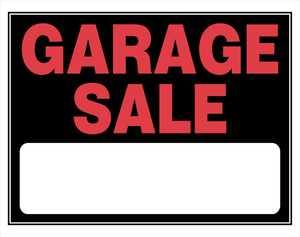 Hillman 840032 Garage Sale Sign 15x19