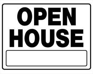Hillman 840062 Open House Sign 20x24