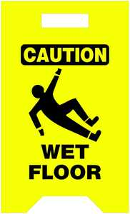 Hillman 840230 Caution Wet Floor Floor Sign