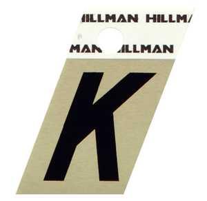 Hillman 840514 K - 1-1/2 in Black On Gold Angle-Cut Aluminum