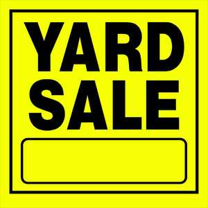 Hillman 842140 Yard Sale Sign 11x11