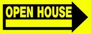Hillman 842330 Open House Sign 10x24