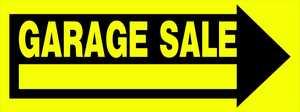 Hillman 842334 Garage Sale Sign 10x24