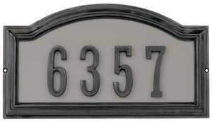 Hillman 843253 Distinctions Address Plage Aged Bronze