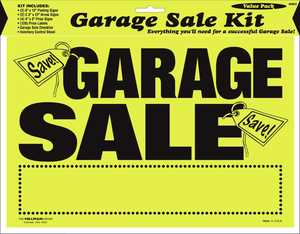 Hillman 848623 Garage Sale Kit 8x12