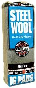 Homax Group 106603-06 Steel Wool #0 Household 16pk