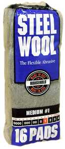 Homax Group 106604-06 Steel Wool #1 Automotive 16p
