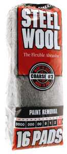 Homax Group 106606-06 Steel Wool #3 Cleaning Stripping 16pk