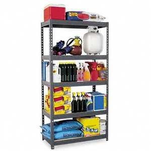 Edsal Hom-e-quip CR3618 5 Shelf Maxirack 18x36x72 800lb