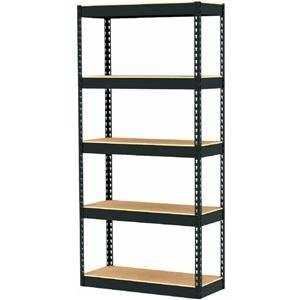 Edsal Hom-e-quip SR100 Medium Duty Steel Shelving 36x18x72