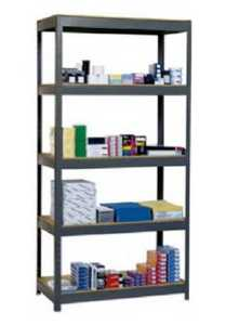Edsal Hom-e-quip VR500 5 Shelf Steel Shelf Unit 36x16x72