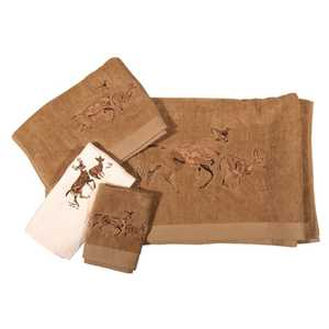 Homemax Imports TL3130-OS-MC 3 Pc Towel Set Deer