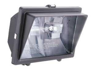 Lithonia Lighting OFL300500Q120L Halogen Floodlight Bronze W/Visor 1 Light
