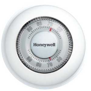 Honeywell YCT87N1006 heat/cool round MF thermostat