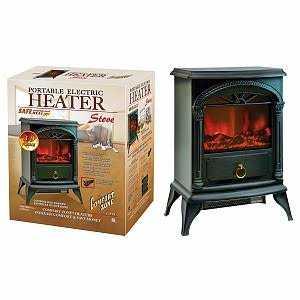 Comfort Zone CZFP4 Comfort Zone Czfp4 Electric Stove Heater