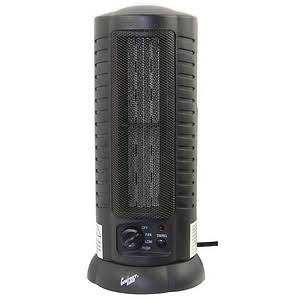 Comfort Zone CZ488 Oscillating Ceramic Tower Fan Heater